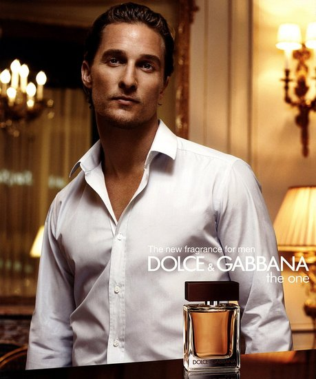 Мэттью МакКонахи (Matthew McConaughey) Dolce&Gabbana The One Man