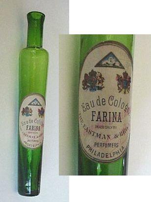Оригинальный флакон eau de cologne