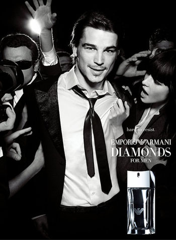 Джош Хартнетт (Josh Harnett) Emporio Diamonds for Men