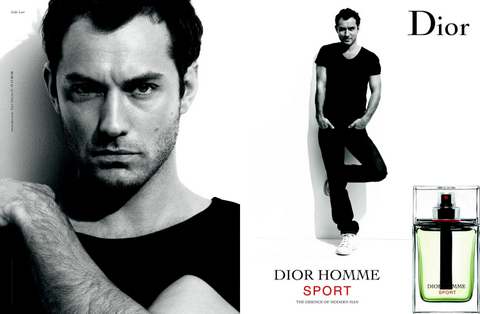 Джуд Лоу (Jude Heyworth Law) Dior Homme Sport