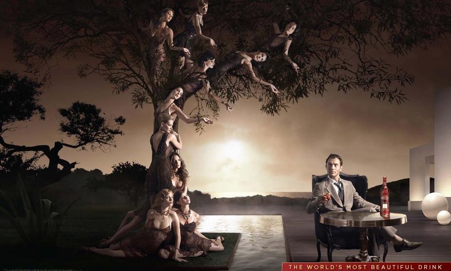 Джуд Лоу (Jude Law) в рекламе Martini Rosato
