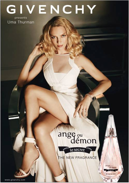 Ума Турман (Uma Thurman) Givenchy Ange ou Demon Le Secret