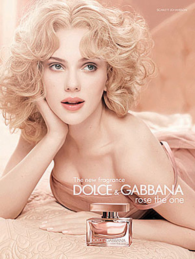 Скарлетт Йоханссон (Scarlett Johansson) Dolce & Gabbana Rose The One