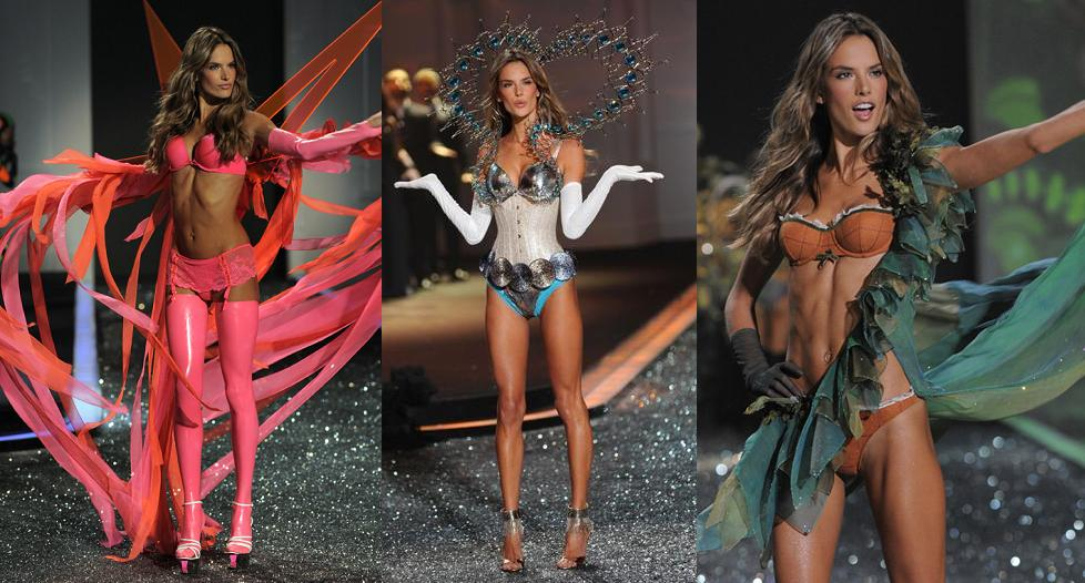 Алессандра Амбросио (Alessanrda Ambrosio) - Victoria's Secret Fashion Show 2009