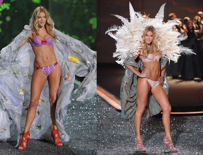Даутцен Крез (Doutzen Kroes) - Victoria's Secret Fashion Show 2009