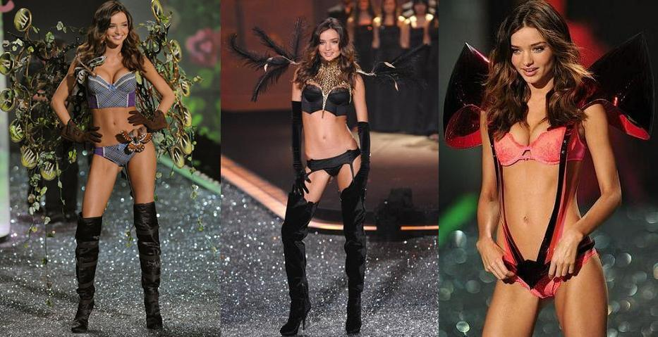 Миранда Керр(Miranda Kerr) - Victoria's Secret Fashion Show 2009
