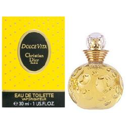 Аромат Dolce Vita от дизайнера Sauvage Christian Dior