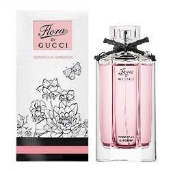 Аромат Flora by Gucci Gorgeous Gardenia от дизайнера Flora by Gucci Eau Fraiche