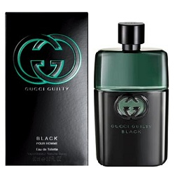 Аромат Gucci Guilty Black Pour Homme от дизайнера Gucci