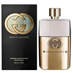 Аромат Gucci Guilty Diamond Pour Homme Limited Edition от дизайнера Gucci Envy Me
