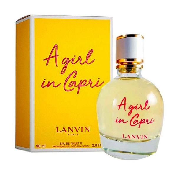 Аромат Lanvin A Girl In Capri от дизайнера Lanvin